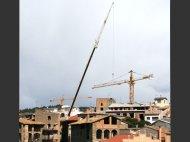 Alquiler de grúas para montar y desmontar grúas torre