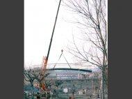 Lloguer de grues per la construcció de ponts i obra pública